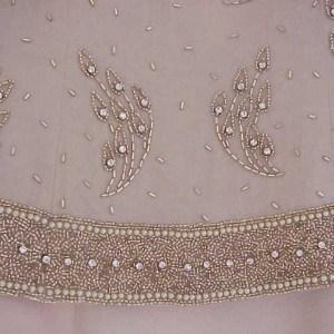 beautiful beading work evening dresses
