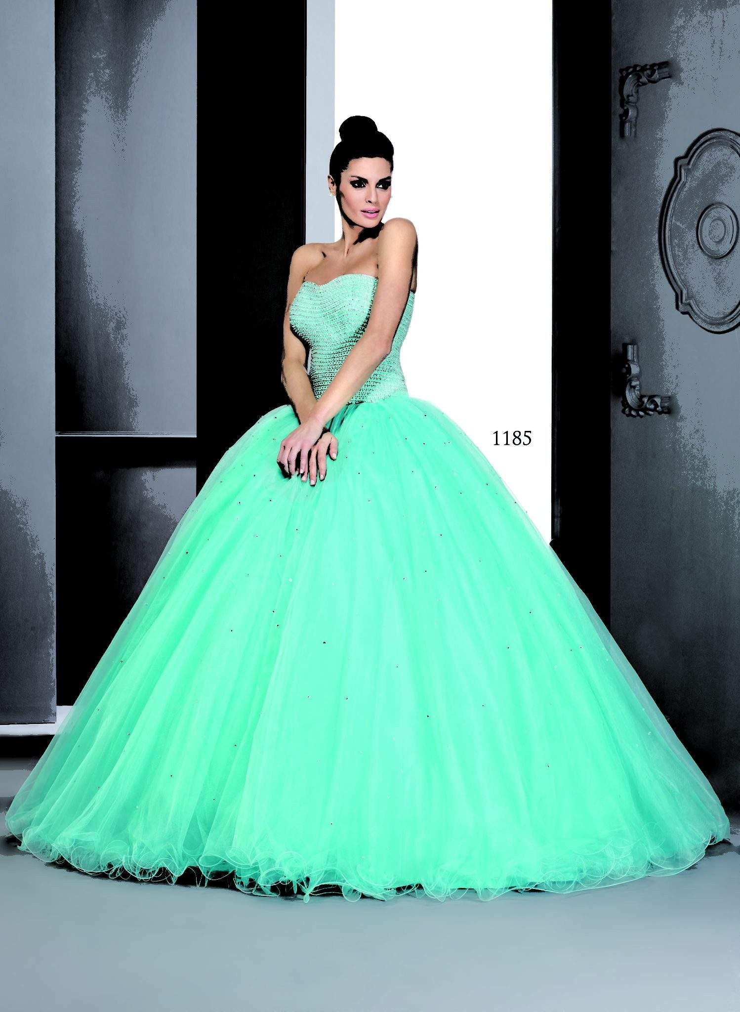 Pastel Colored Ball Gowns - Darius Cordell Fashion Ltd