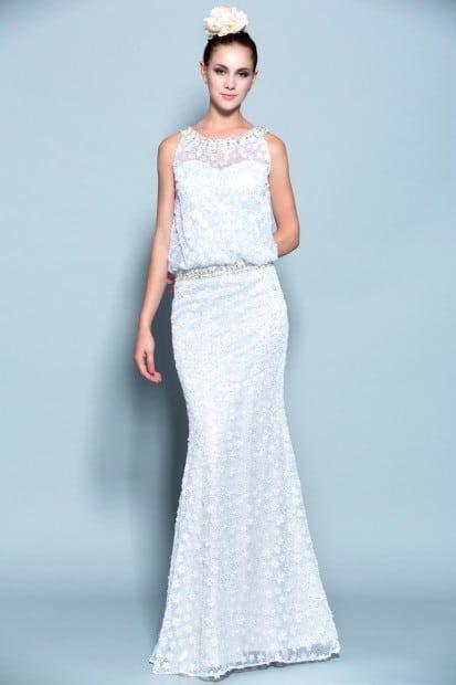 Blouson Wedding Dresses