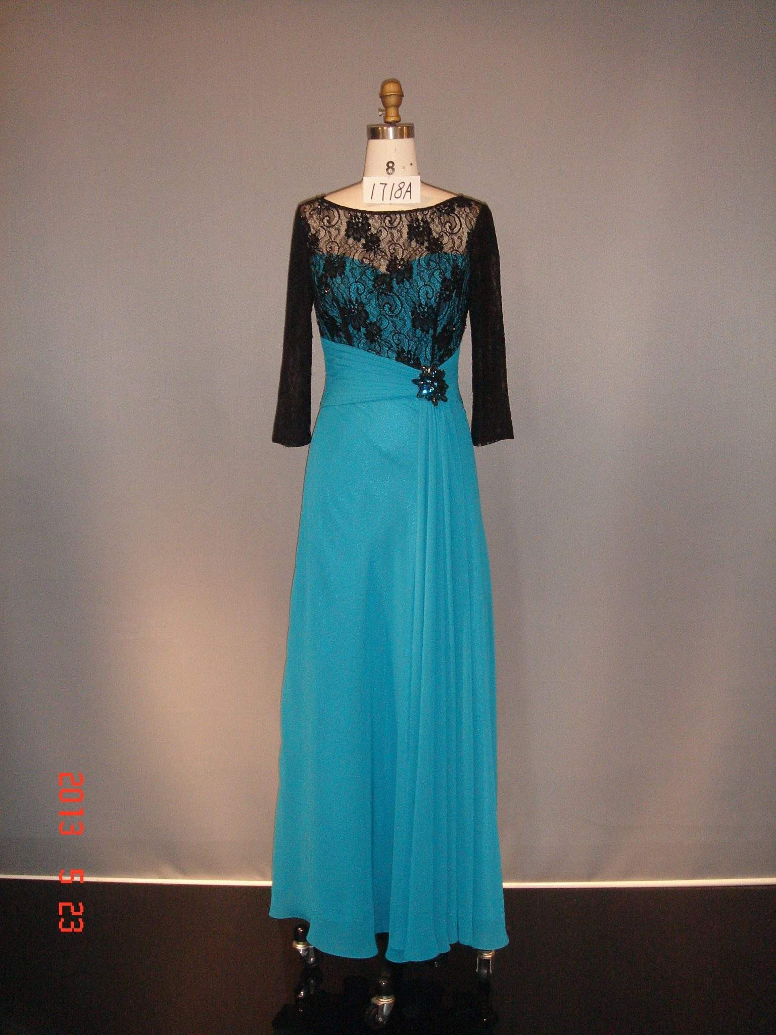 Long Sleeve Mother of Bride Formal Dresses from Darius Couture