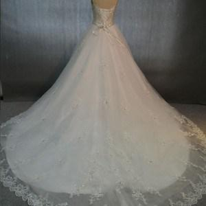 bridal gowns with chapel train