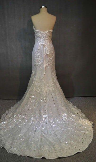 Perlen Spitze Brautkleider - Darius Cordell Fashion Ltd