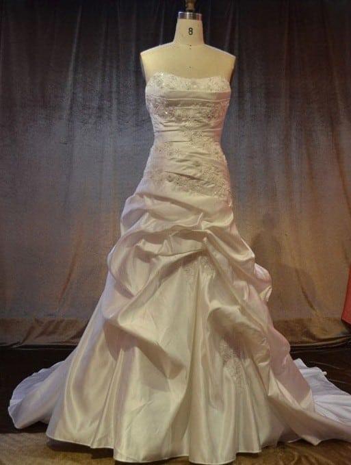 Strapless Pick Up Bridal Gowns - Darius Cordell Fashion Ltd