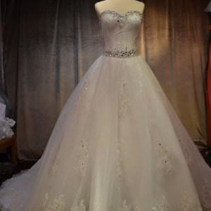 Style KAima359 - ball gown wedding dresses with cathedral trains