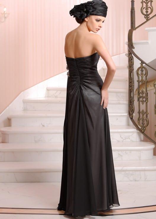 Schwarze Designer Abendkleider - Darius Cordell Fashion Ltd