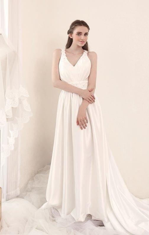 Style #BR808 Designer Beach Wedding Dresses that are casual – DARIUS ...
