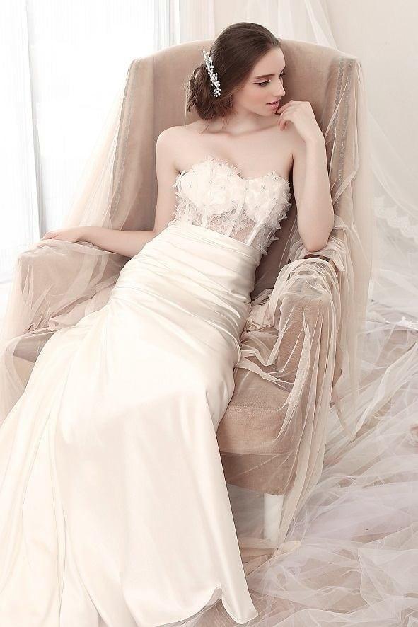 Corset Bodice Bridal Gowns - Darius Cordell Fashion Ltd