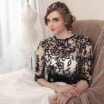 Black and White Mother of Bride Dresses