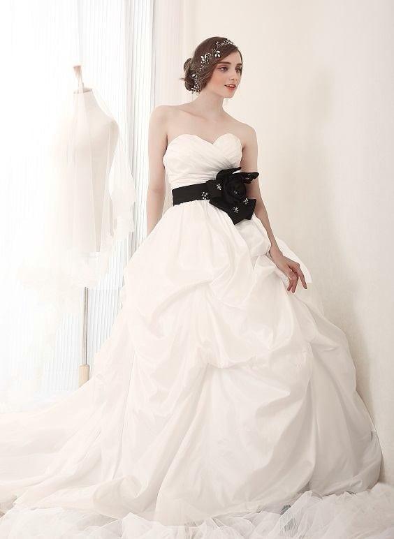 Black White Wedding Dresses - Darius Cordell Fashion Ltd