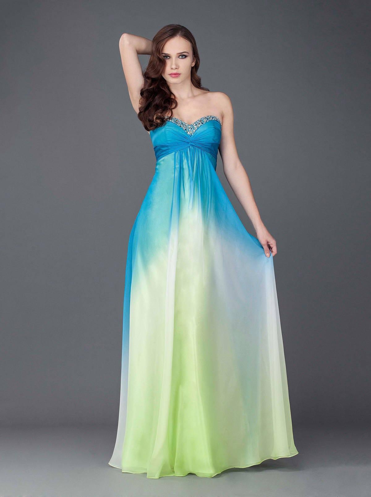 Printed Evening Dresses - Darius Cordell Fashion Ltd