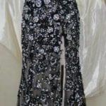 Black Beaded Lace Pageant Dresses