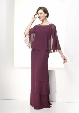 Chiffon Mother Of The Bride Evening Gowns