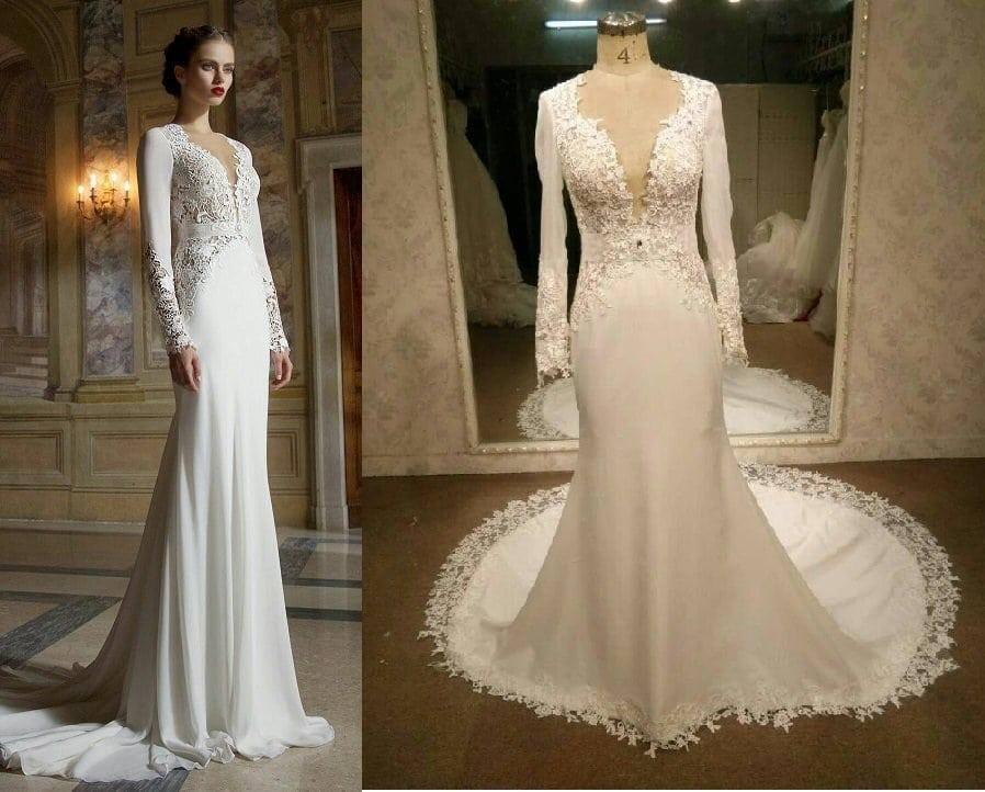 Replicas And Recreations Of Couture Red Carpet Evening