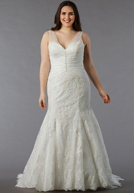 Sleeveless Plus size Bridal gowns - Darius Cordell Fashion Ltd