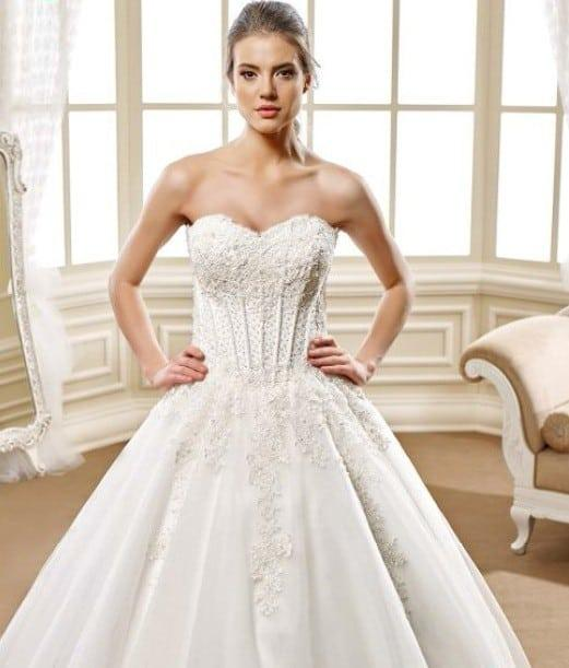 Corset ball gown Wedding dresses - Darius Cordell Fashion Ltd