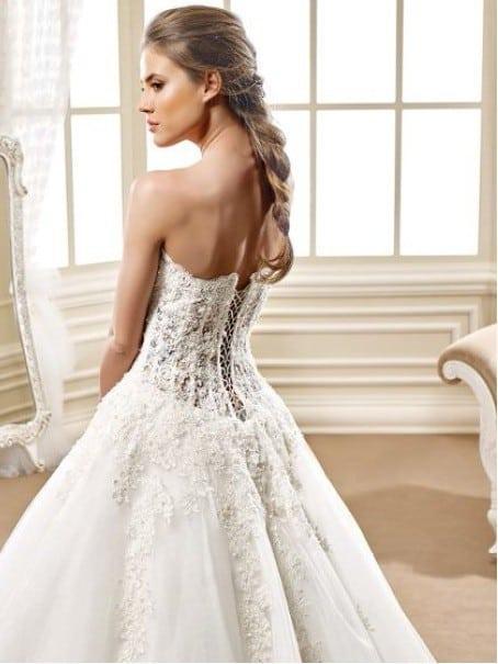 Corset ball gown Wedding dresses - Darius Cordell Fashion Ltd