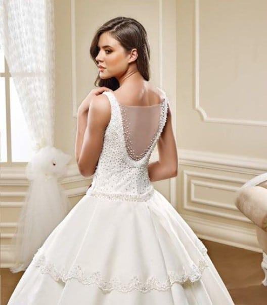 Tiered ball gown Wedding Dresses - Darius Cordell Fashion Ltd