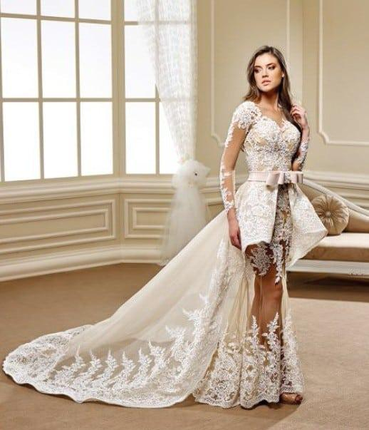 Haute Couture Wedding Gowns With Long Sleeves From Darius USA