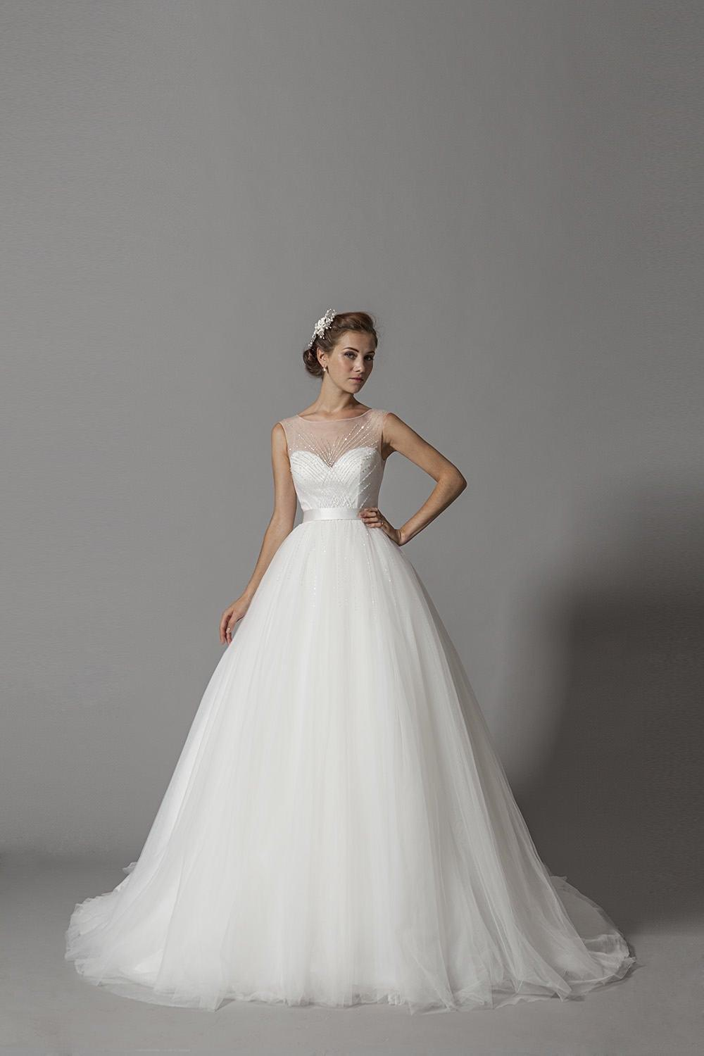 Wedding Dresses With Large Ball Gown Skirts