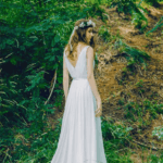 back of bohemian bridal dresses