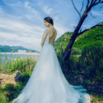 backless wedding ball gowns