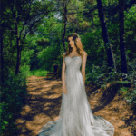 garden wedding gowns