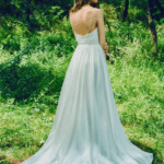 chapel train wedding gowns for the garden