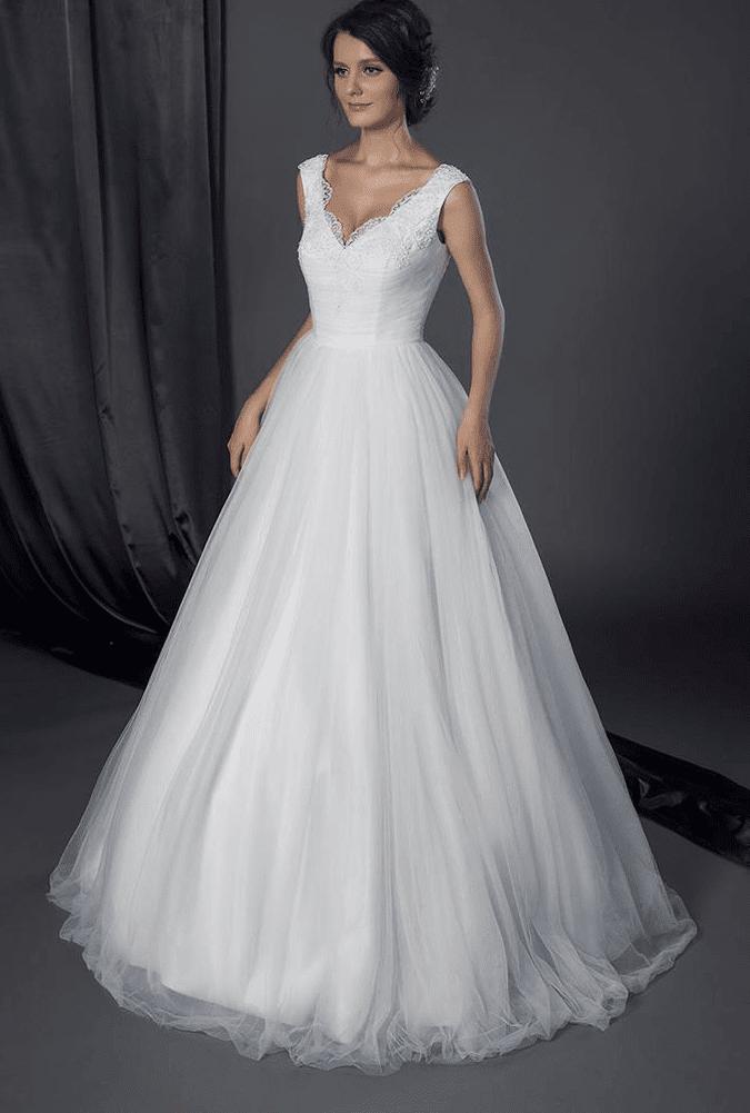 inexpensive ball gown wedding dress