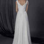 v back wedding dresses