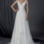 sleeveless cheap wedding gowns