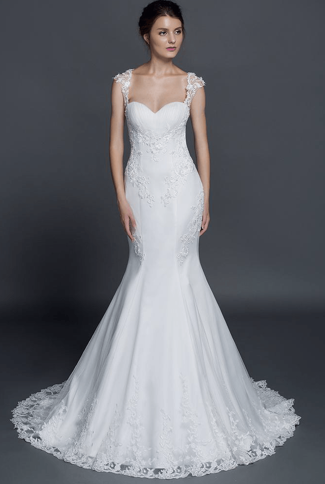 Timeless wedding dresses from the Darius Bridal collection.