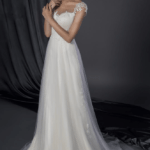 cap sleeve bridal dresses