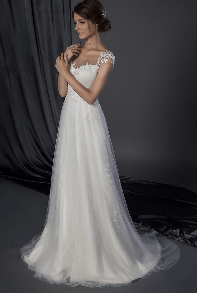 wedding dresses bridal collection 2 style 501501440 cap sleeve bridal