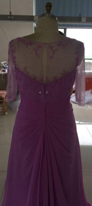 Lila Plus Size Mutter der Braut Kleider - Darius Cordell