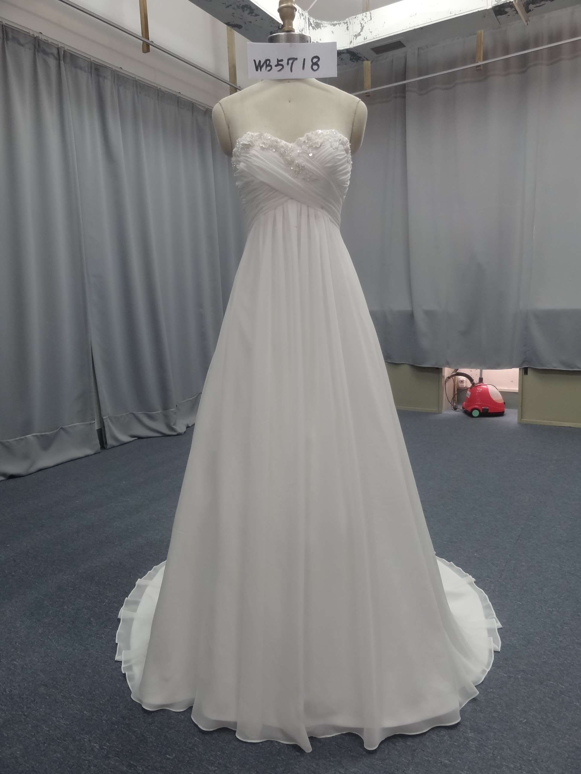 A-line wedding gowns with empire waist - Darius Cordell Fashion