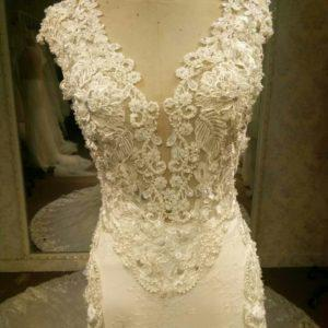 Embroidered Wedding Gowns by Darius Cordell