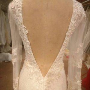 Vbacklongsleeveweddingdresses DariusCordell