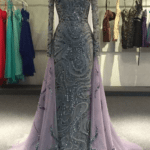 Style AL Beaded long sleeve evening gown for Mother of the Bride Darius Cordell