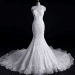 Style #Apr2019L - Designer Lace Wedding Gown - Darius Cordell