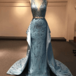 Style #Apr2097 - Beaded Mother of the Bride Ball Gowns - Darius Cordell
