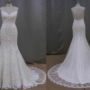 Style #ST16212 - Sheer Lace back Wedding Dresses - Darius Cordell