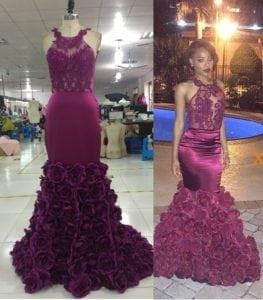 Replica from internet for prom dress