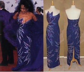 Replica of Diana Ross Dress