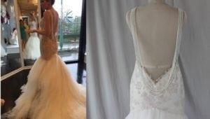 Réplica del vestido de réplica Galia Lahav - Alison