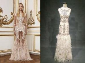 Replica of Givenchy Evening gown with changes