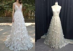 Replica of a Berta Wedding Dress