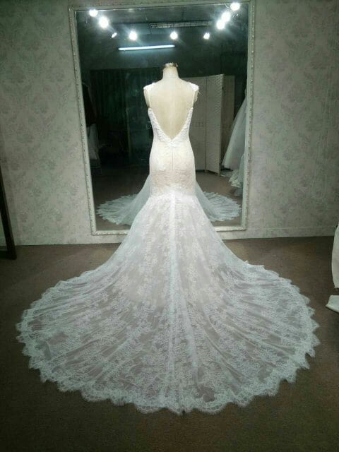 Berta inspired lace wedding dress by darius bridal style c2016 beck123 backless lace wedding dress inspired by berta from darius cordell junglespirit Gallery
