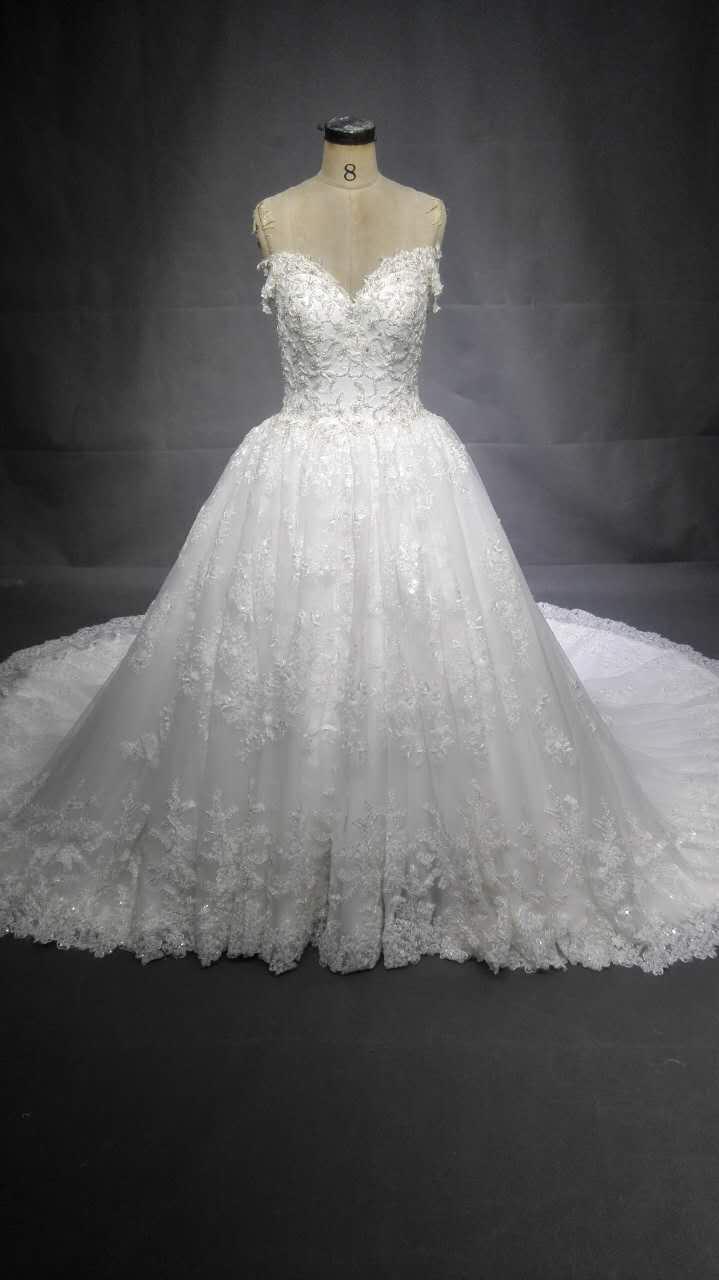 Plus Size Beaded Lace Wedding Dresses by Darius Bridal