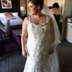 Style #1880C - Beaded plus size wedding dresses from the Darius Collection