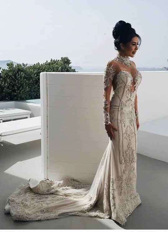 Haute Couture Long Sleeve Wedding Dresses Made For Less By Darius Bridal